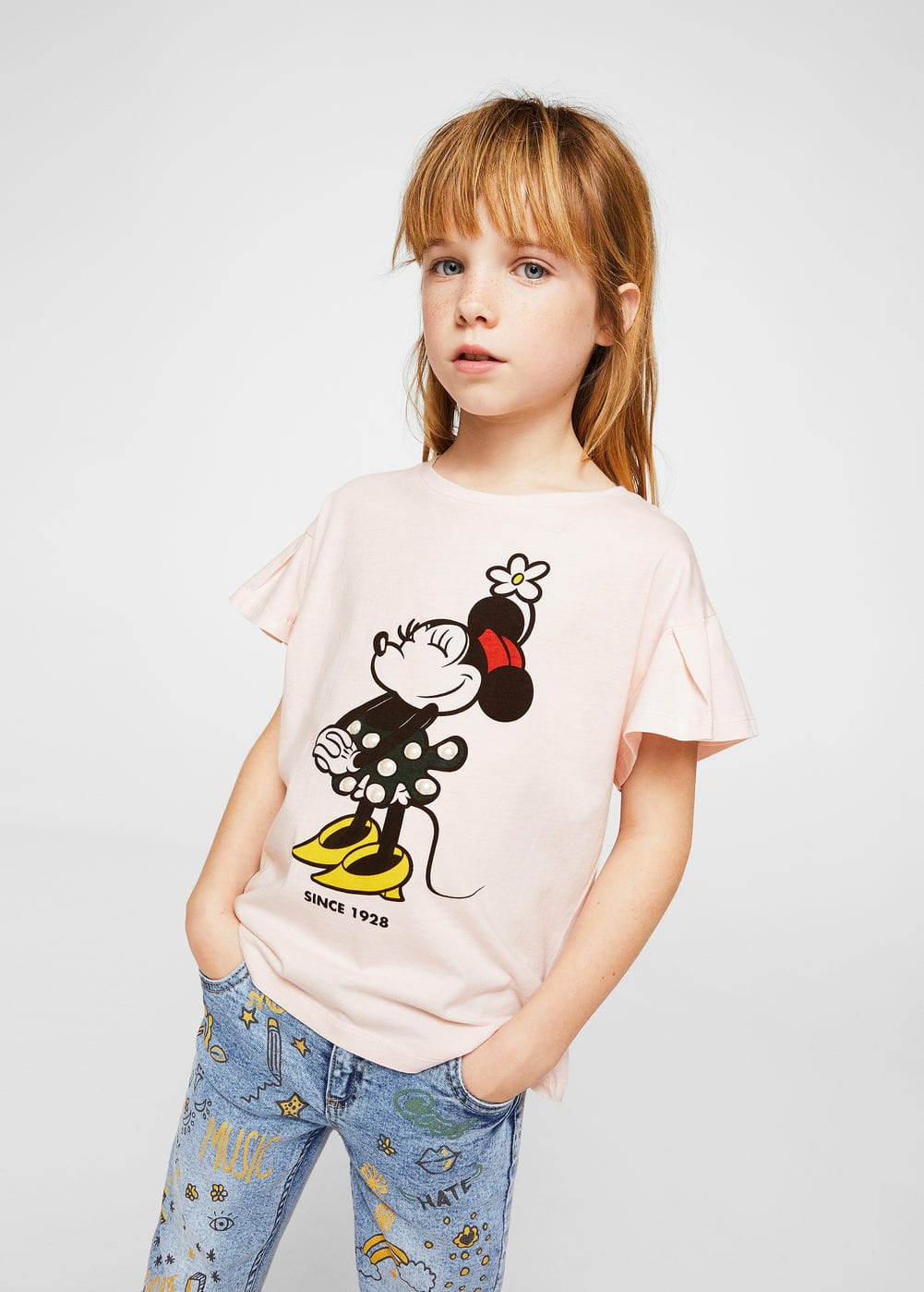 Camiseta minnie mouse | MANGO