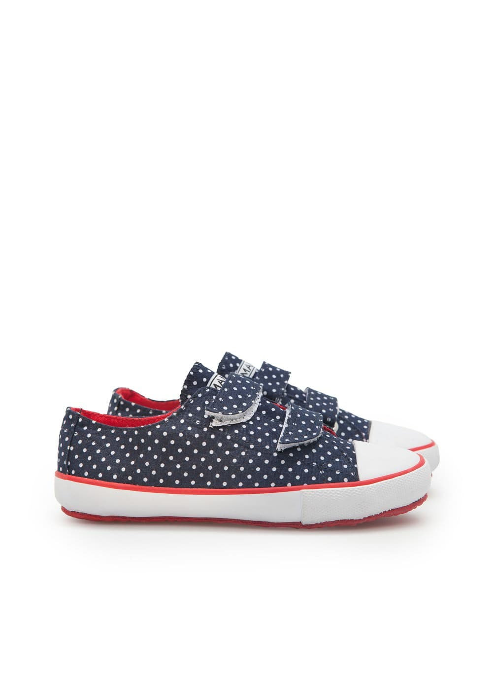 Velcro canvas sneakers | MANGO KIDS