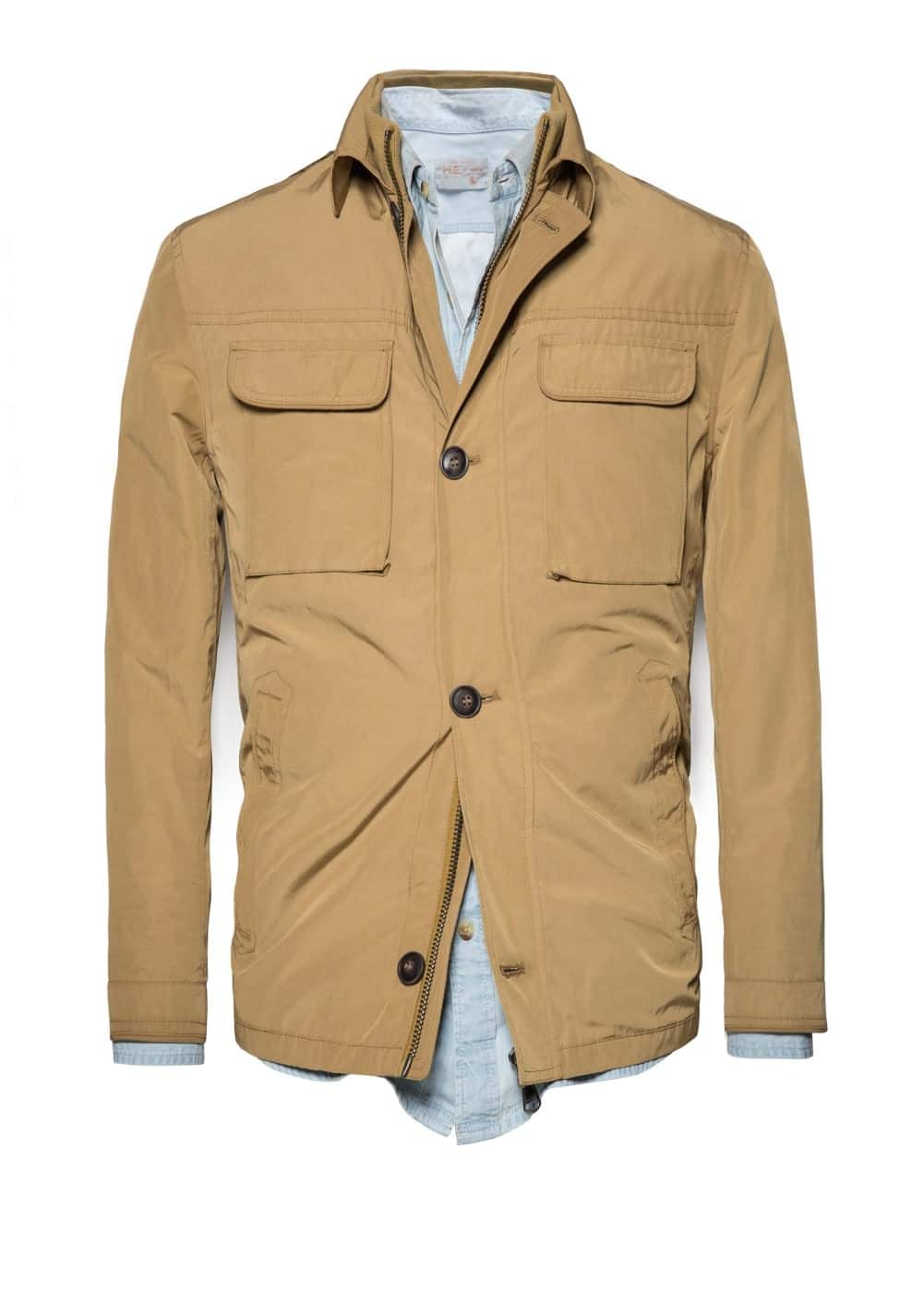 Field jacket trabillas | MANGO