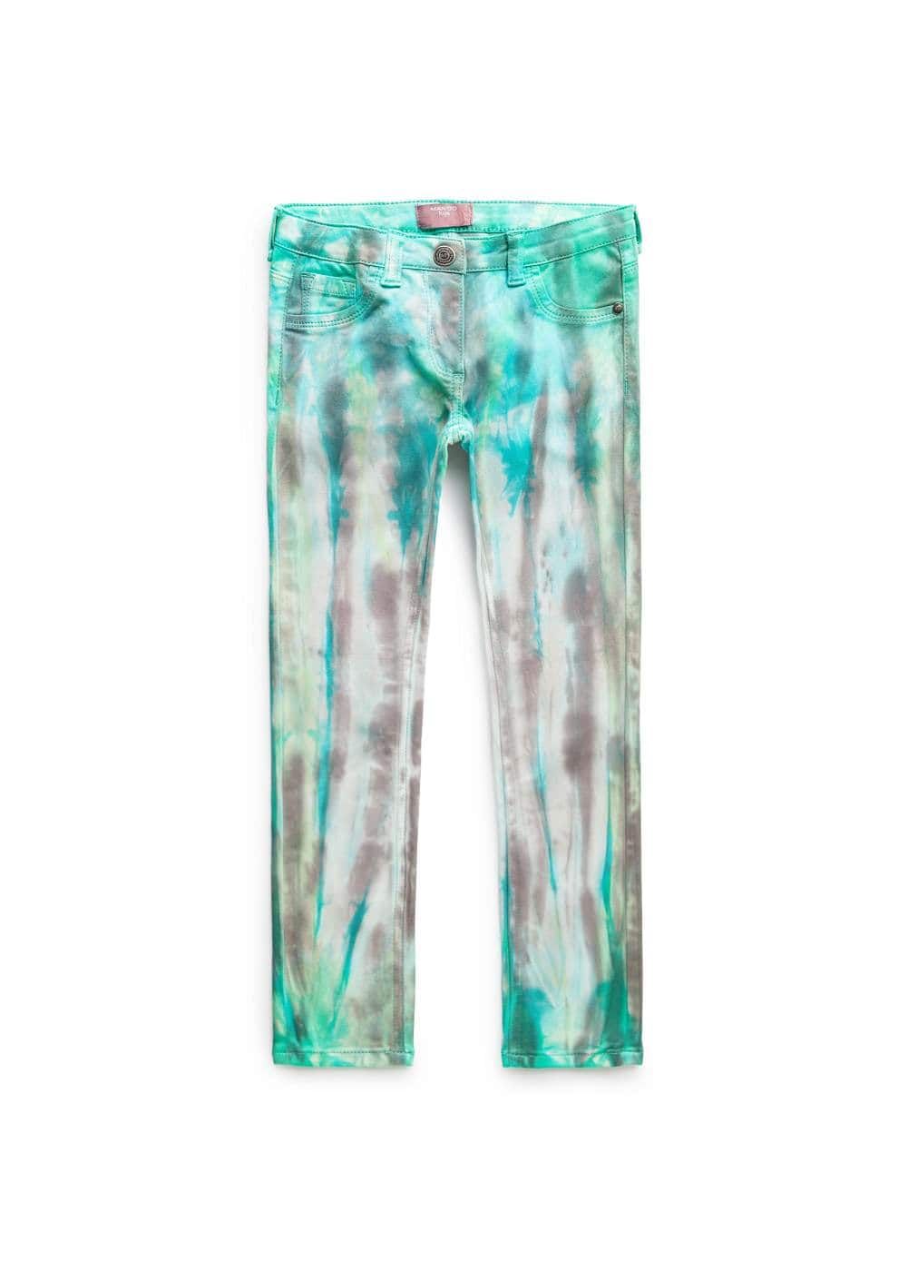 Aquarelle trousers | MANGO