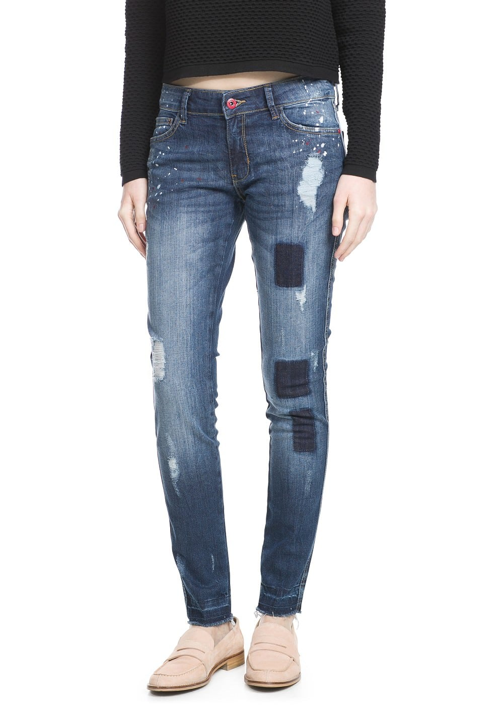 Super slim-fit arizona jeans | MANGO
