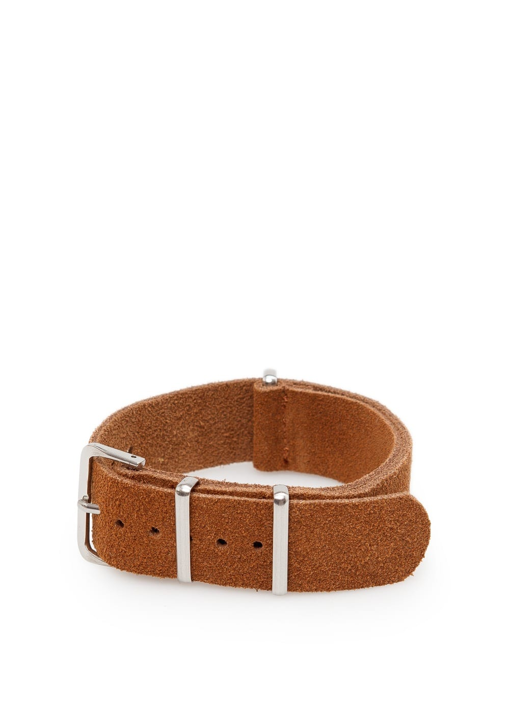 Adjustable suede bracelet | MANGO MAN
