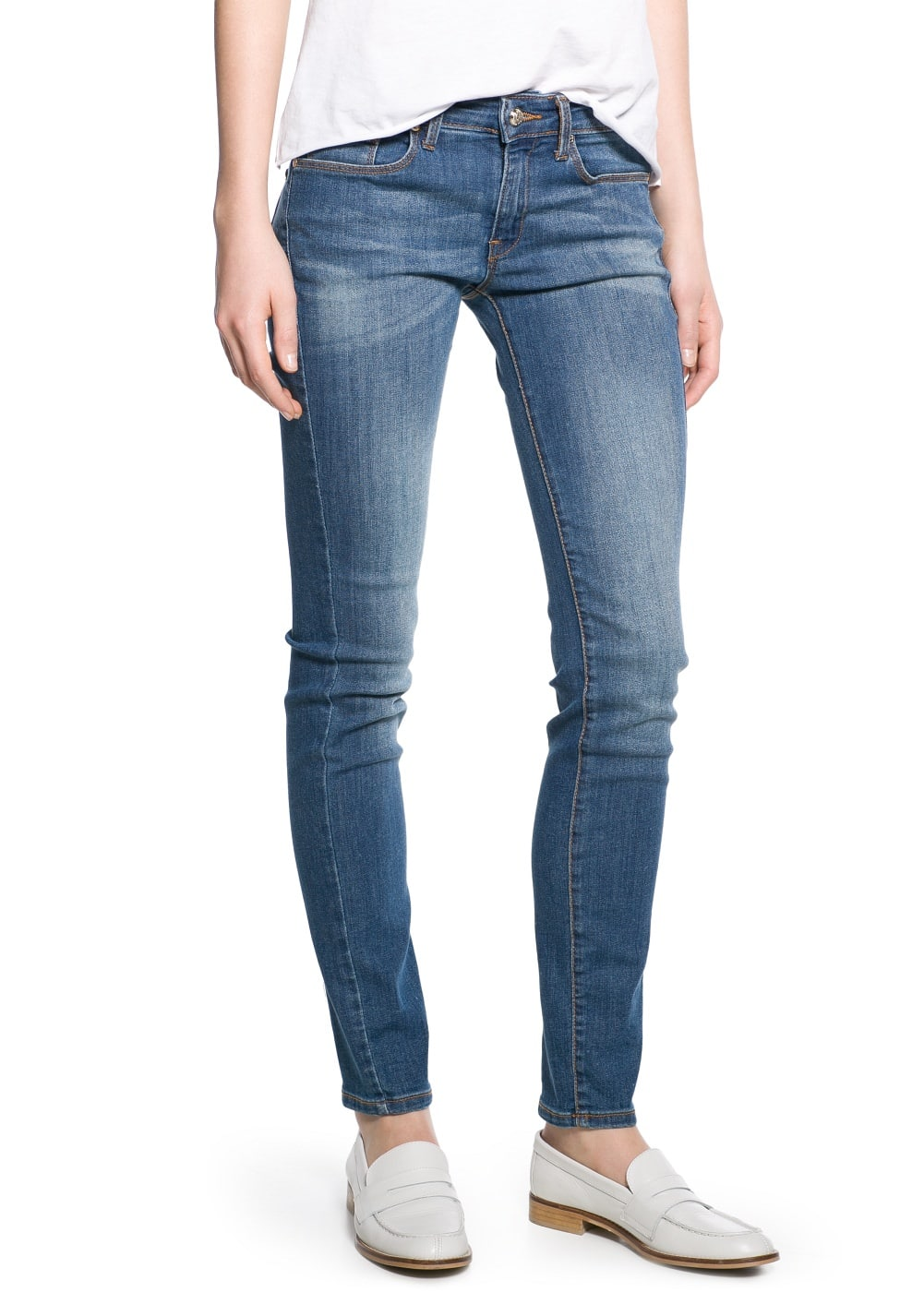 Super slim-fit olivia jeans | MANGO