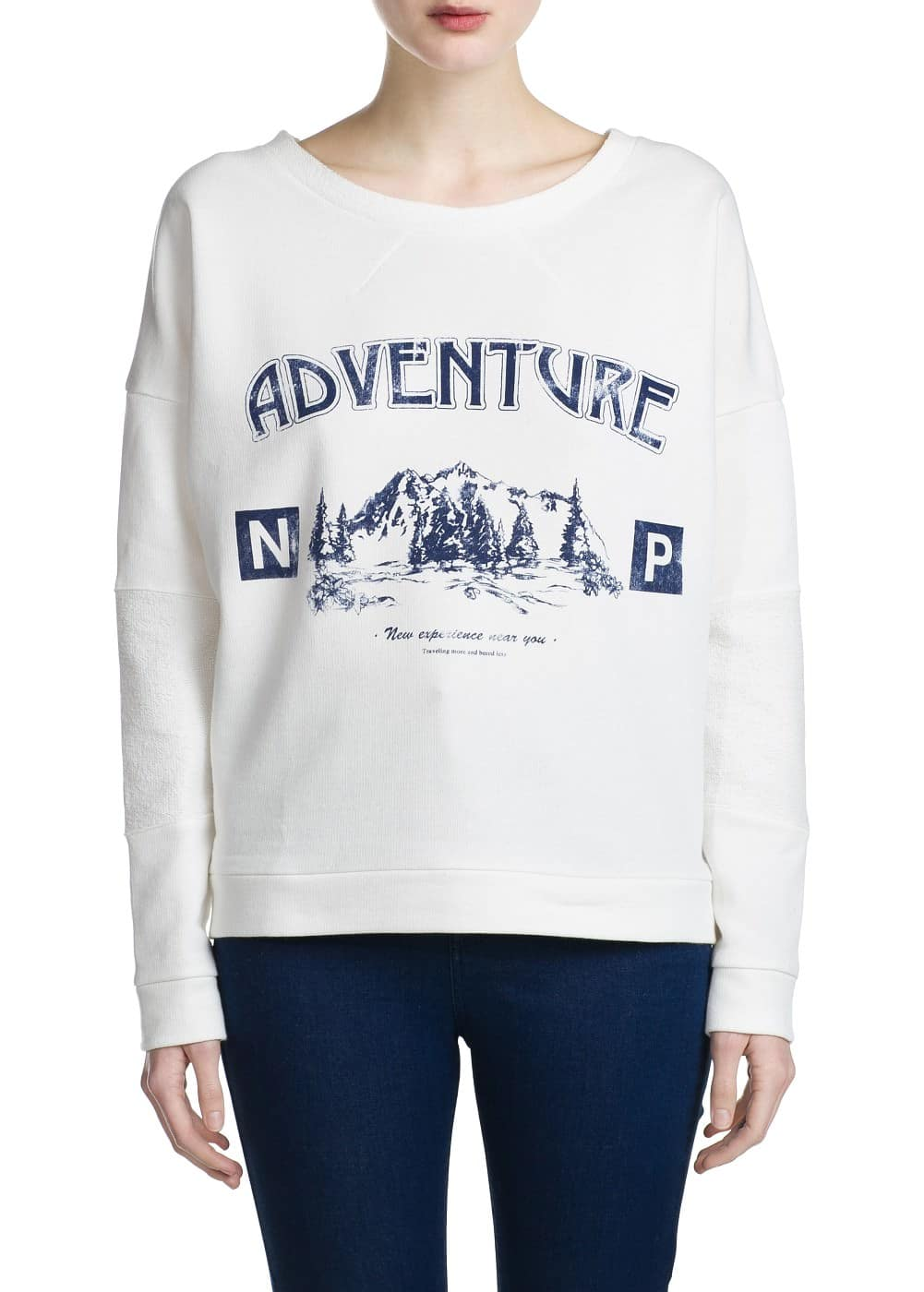 Adventure sweatshirt | MANGO MAN