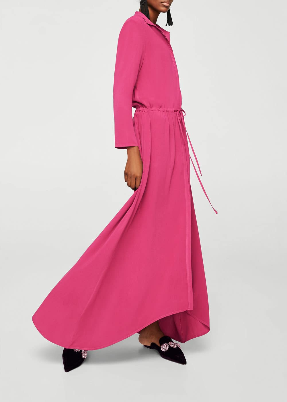 Long shirt dress | MANGO