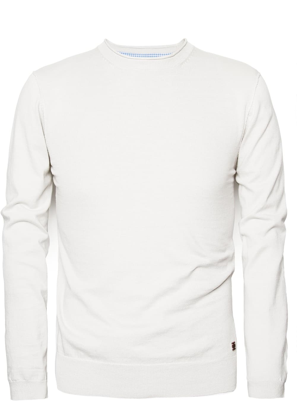 Raw edge cotton sweater | MANGO