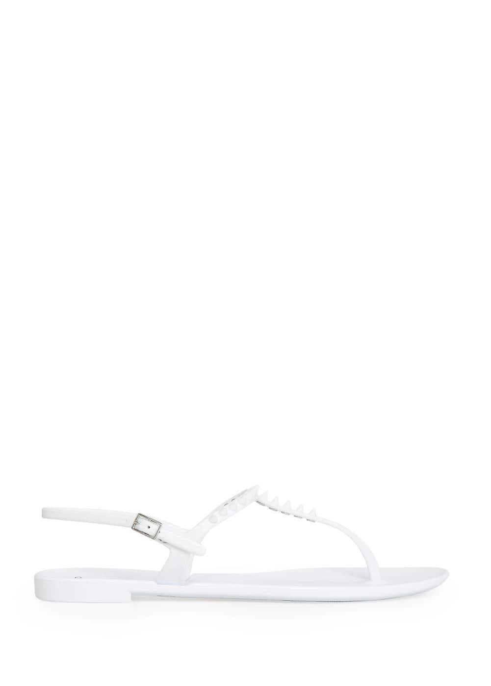 Spike jelly sandals | MANGO