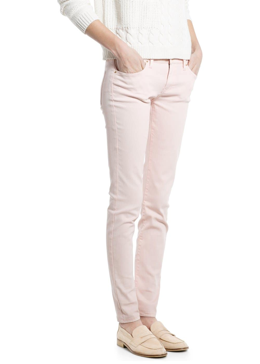 Super slim-fit paty jeans | MANGO