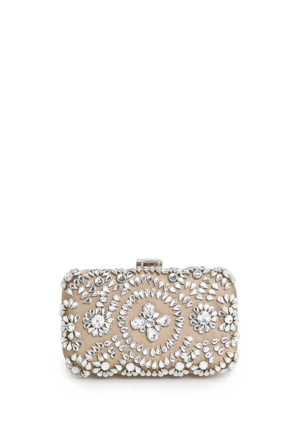 Jewel box clutch | MANGO