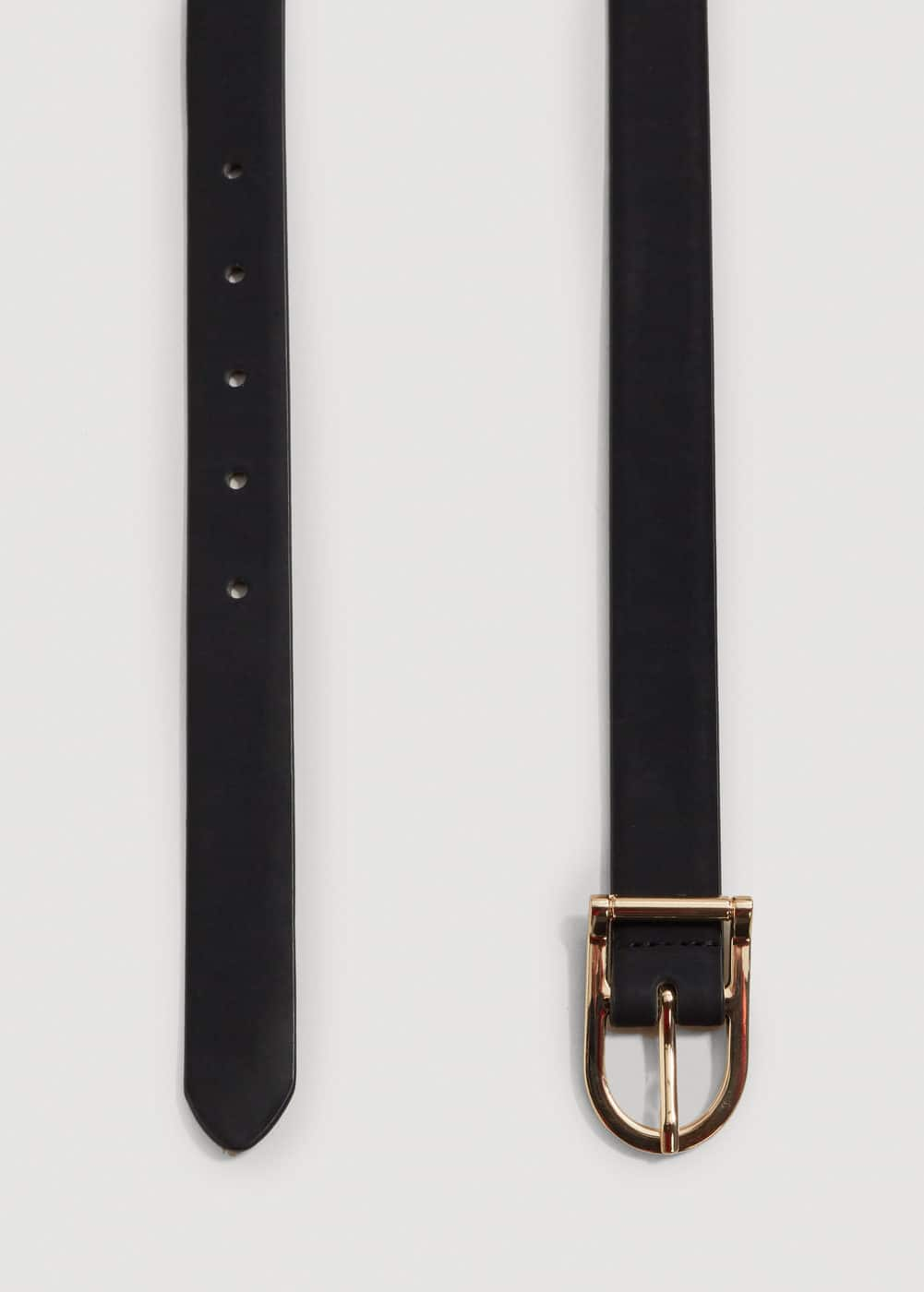 Faux-leather belt | MANGO