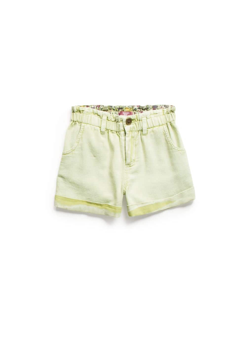 Cotton bermuda shorts | MANGO KIDS