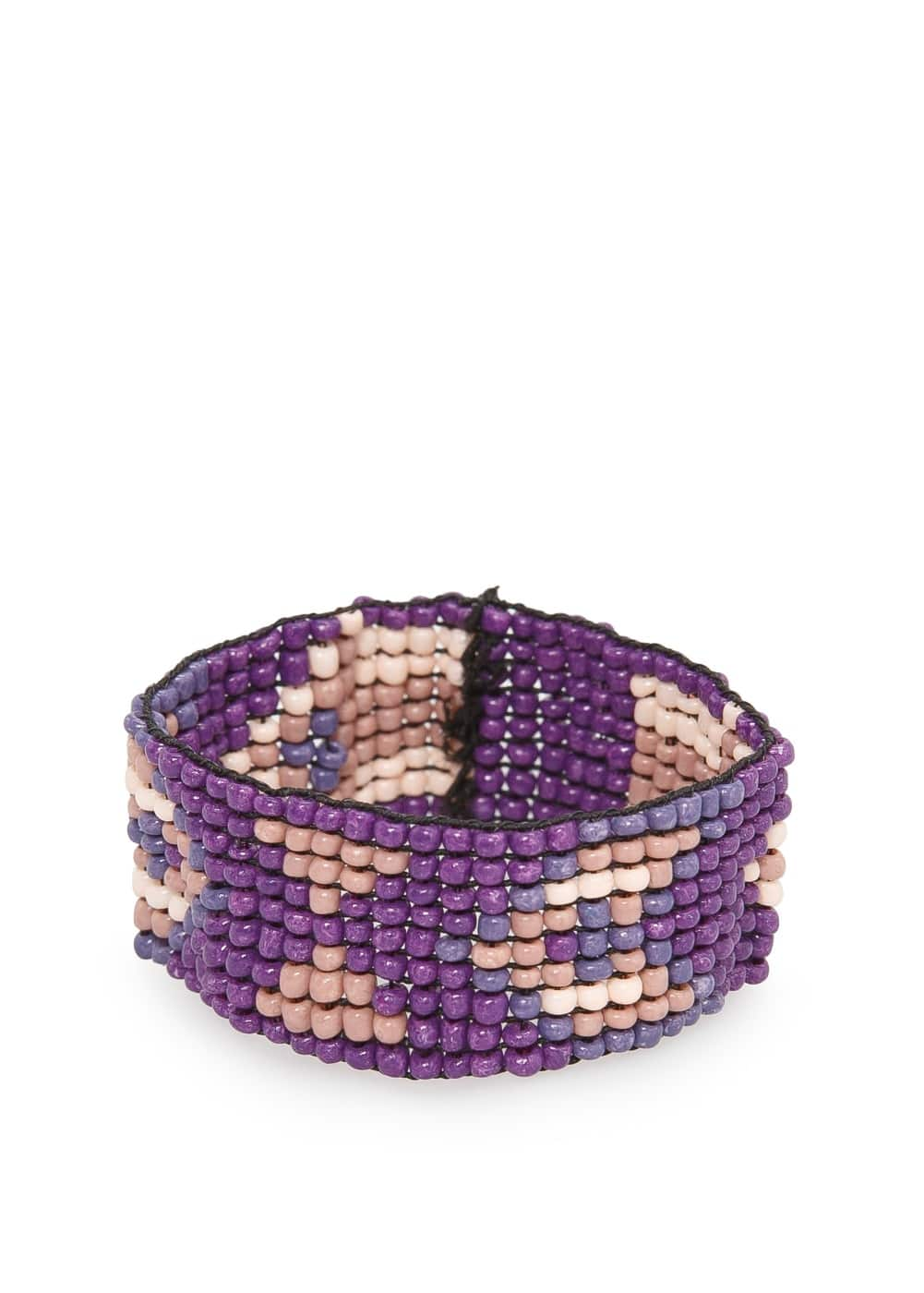Ethnic beaded bracelet | MANGO