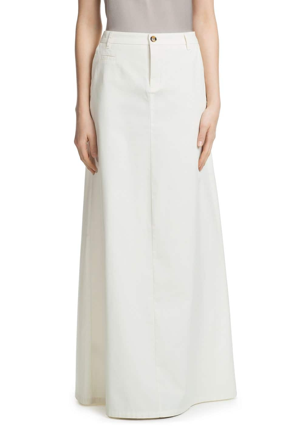 Flared long skirt | MANGO