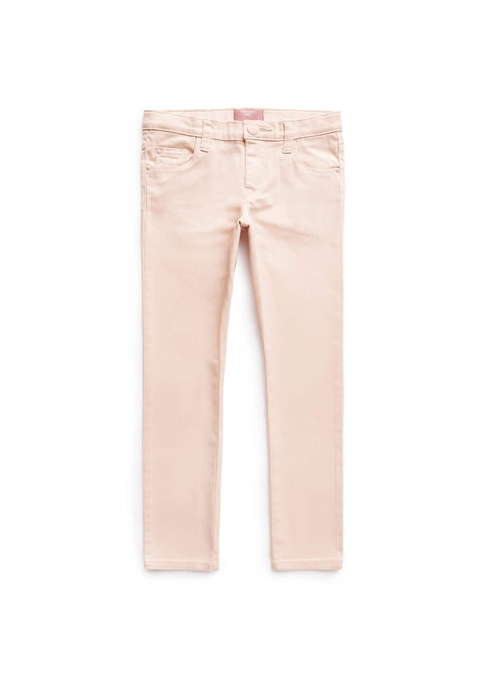 Slim-fit denim trousers | MANGO MAN