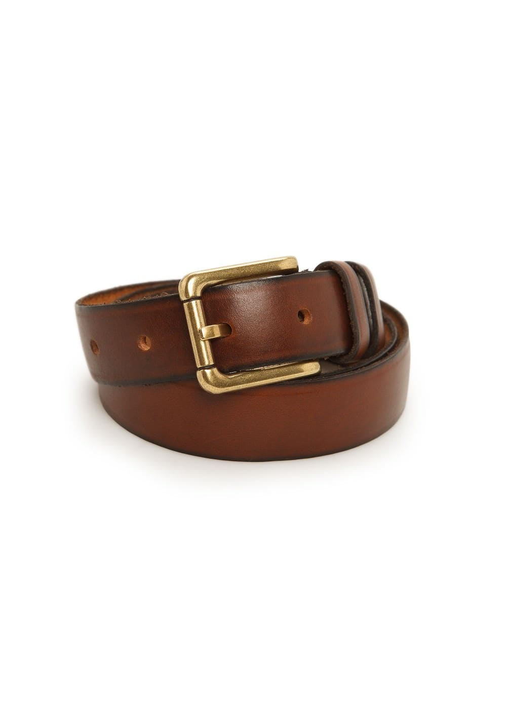 Vintage leather belt | MANGO MAN