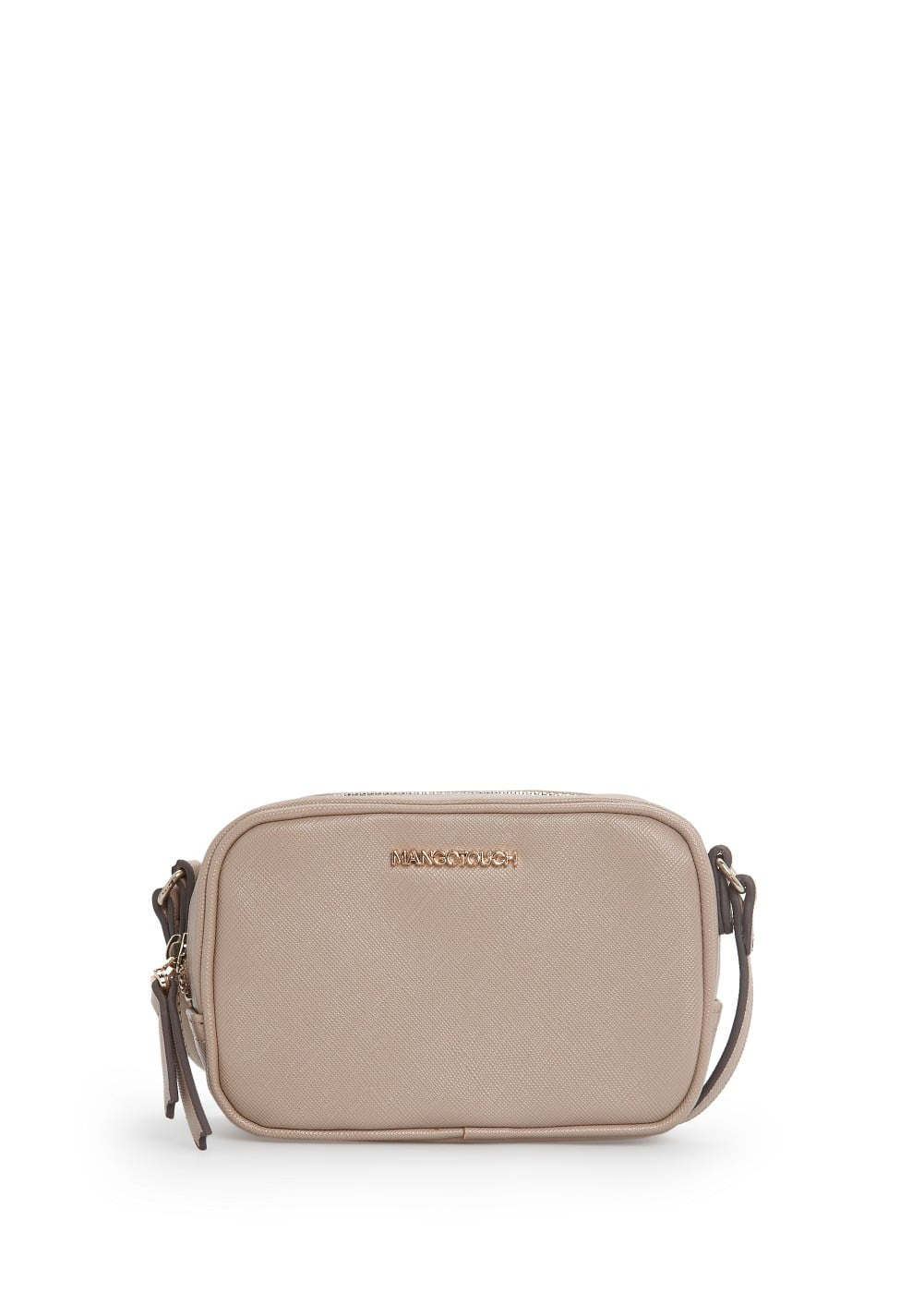 Saffiano-effect mini bag | MANGO