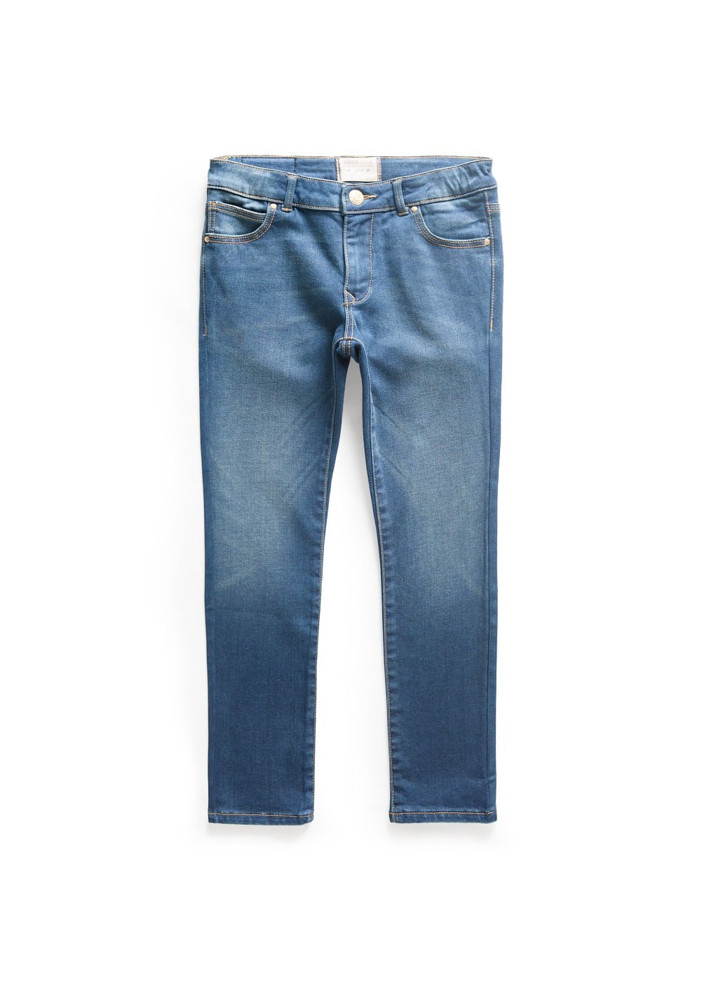 Medium wash jeans | MANGO