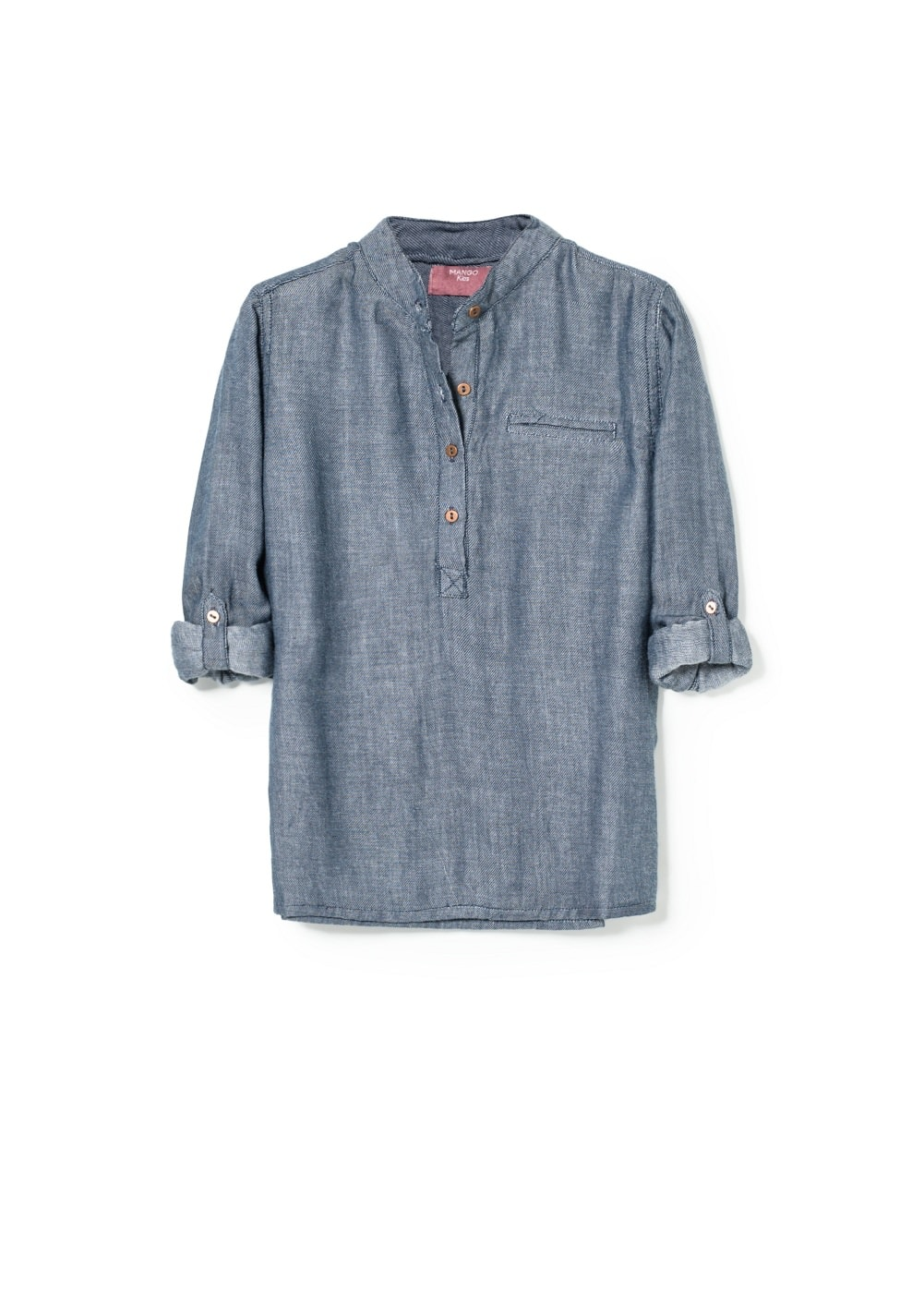 Chambray shirt | MANGO KIDS