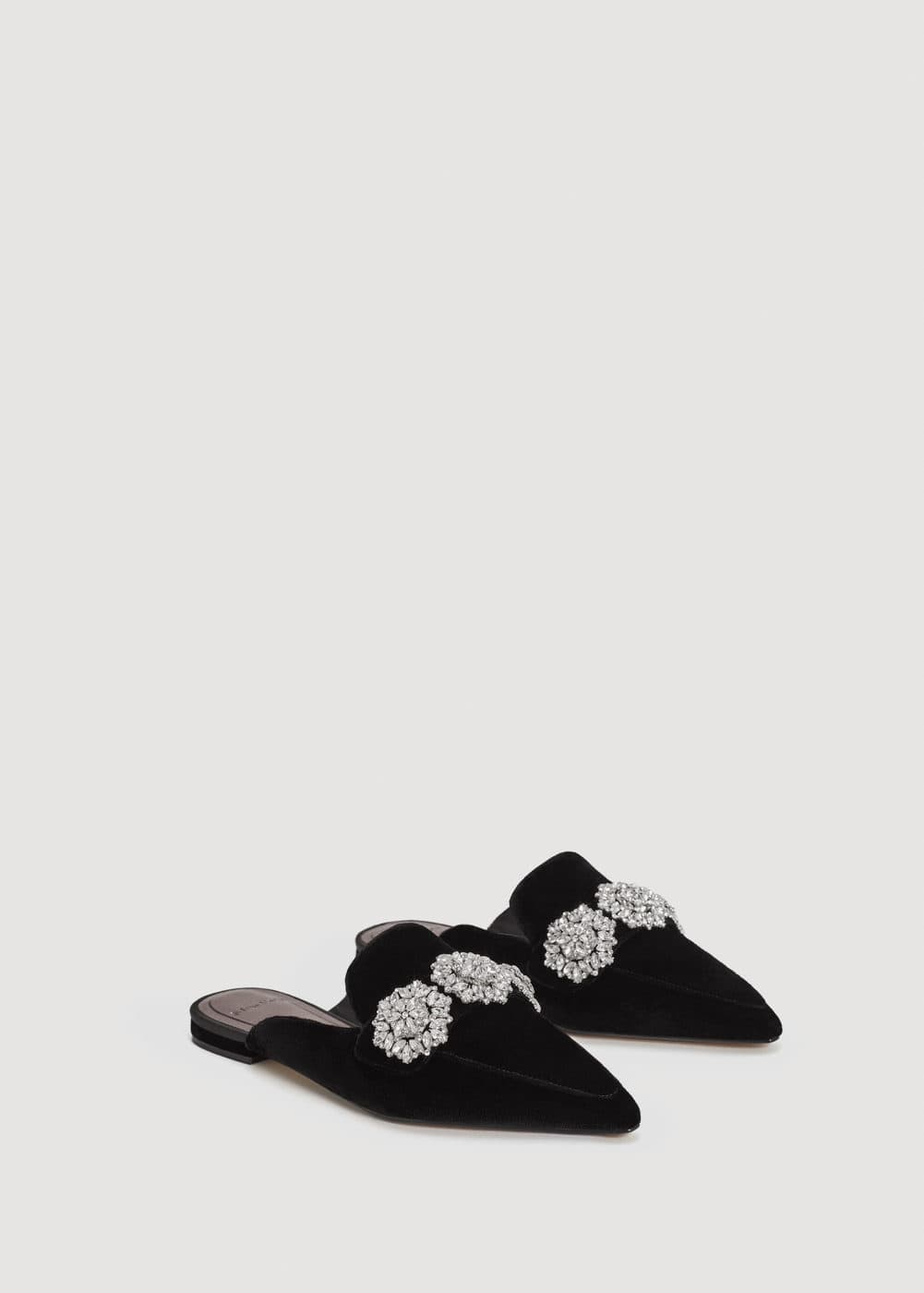 Crystal slingback shoes | MNG