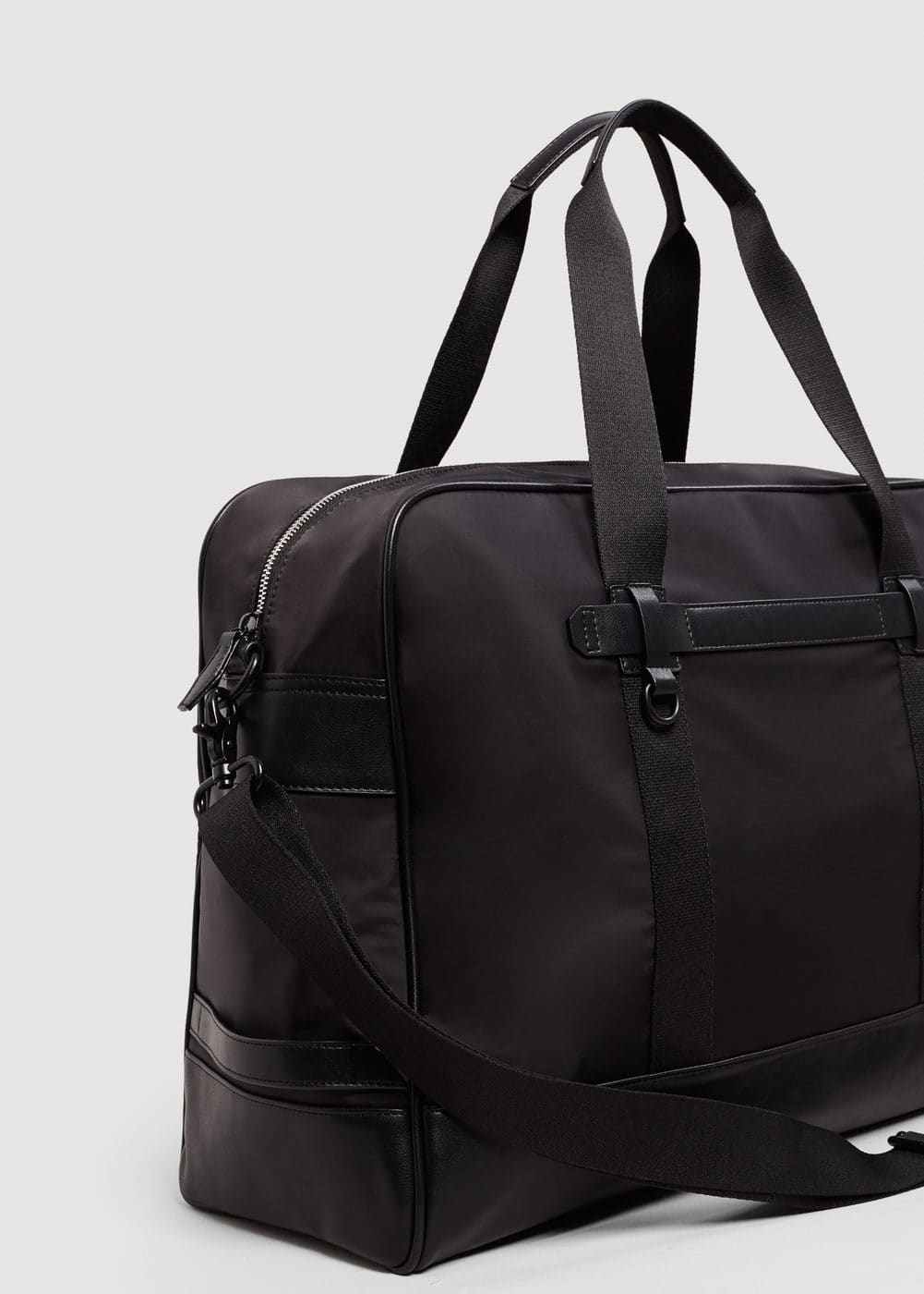 Combined weekend bag | MANGO MAN