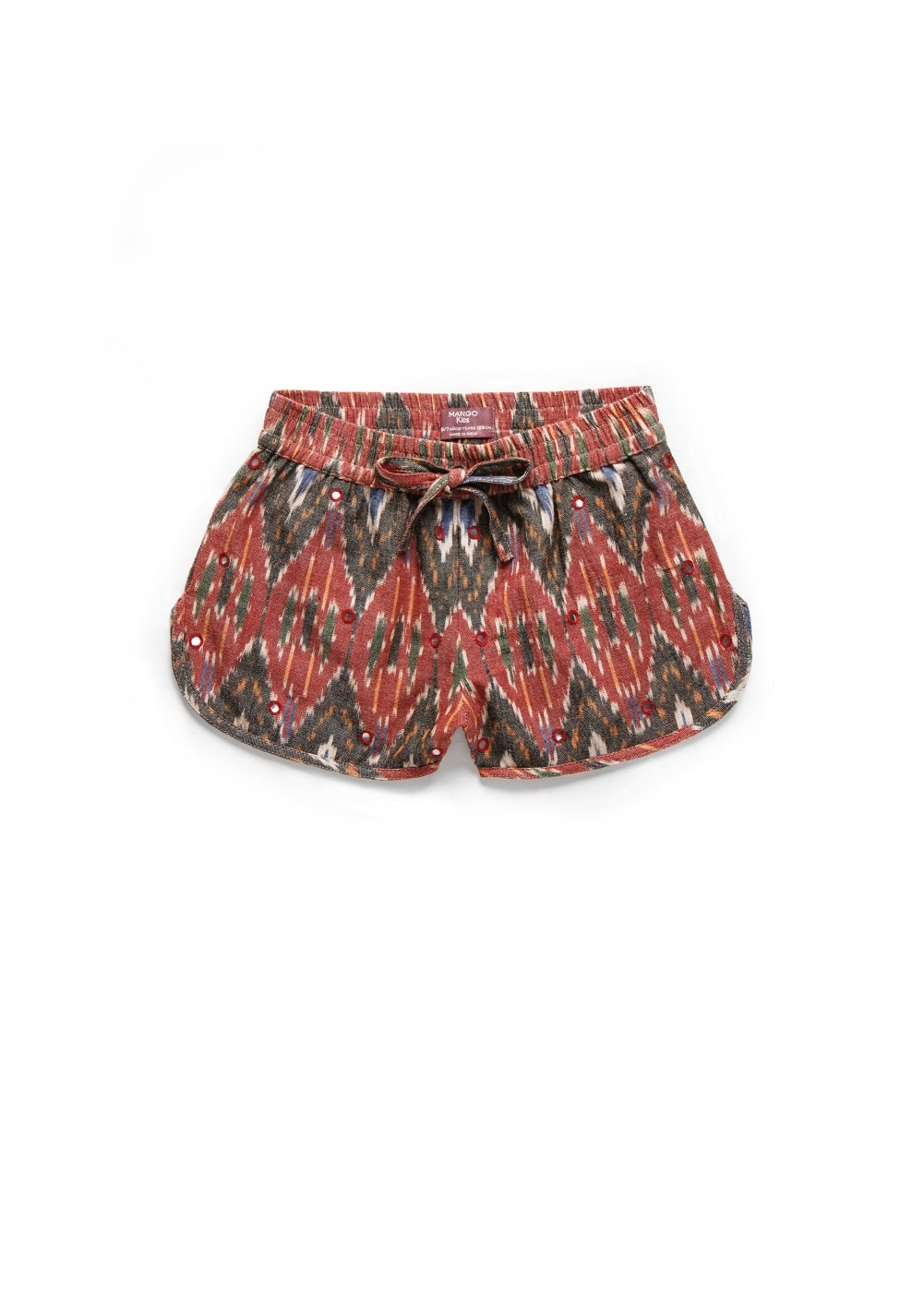 Appliqué ethnic shorts | MANGO KIDS