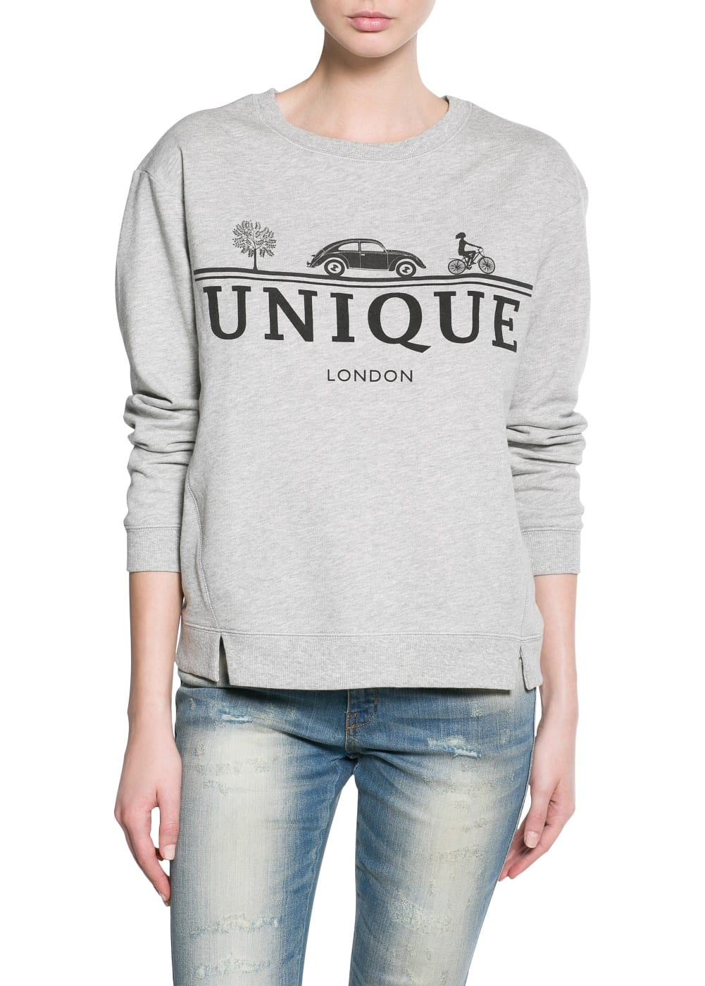 Unique london sweatshirt | MANGO