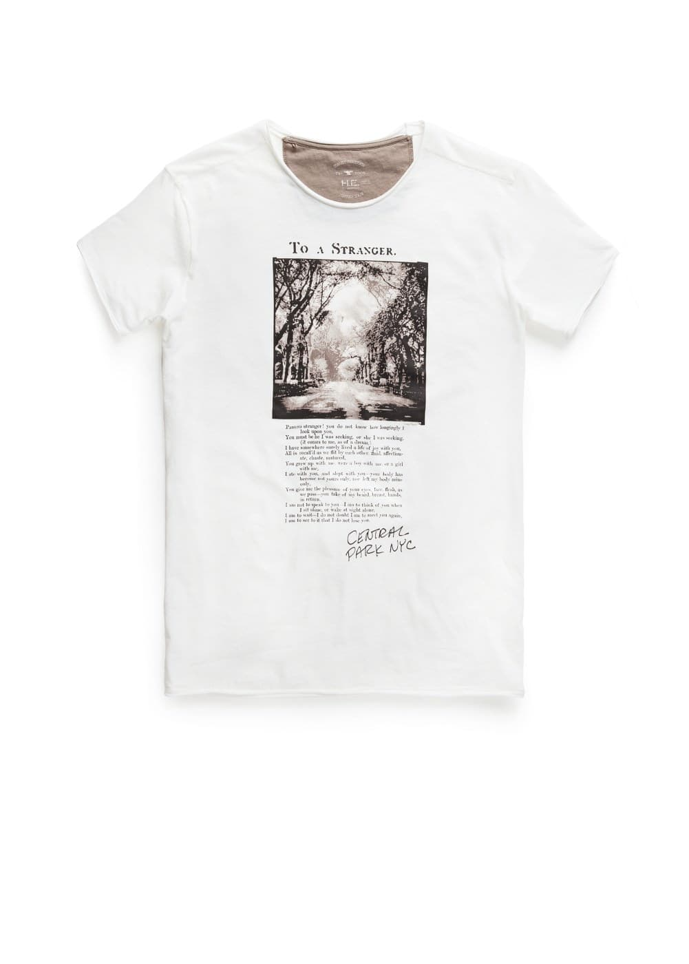 Central park t-shirt | MANGO MAN