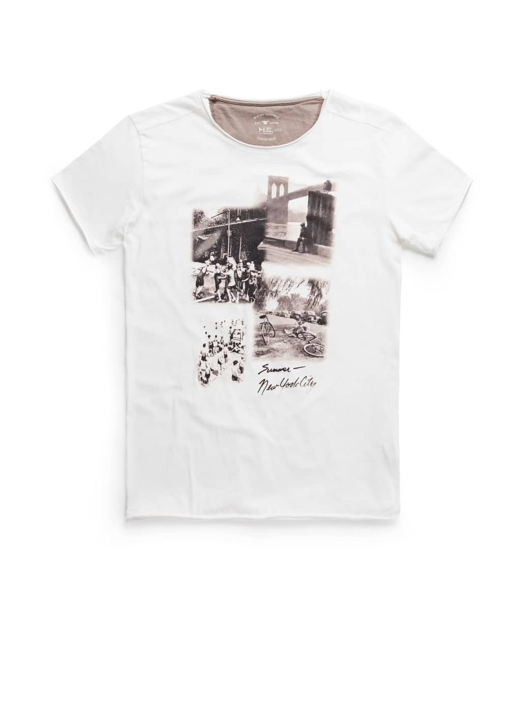 Summer photo print t-shirt | MANGO