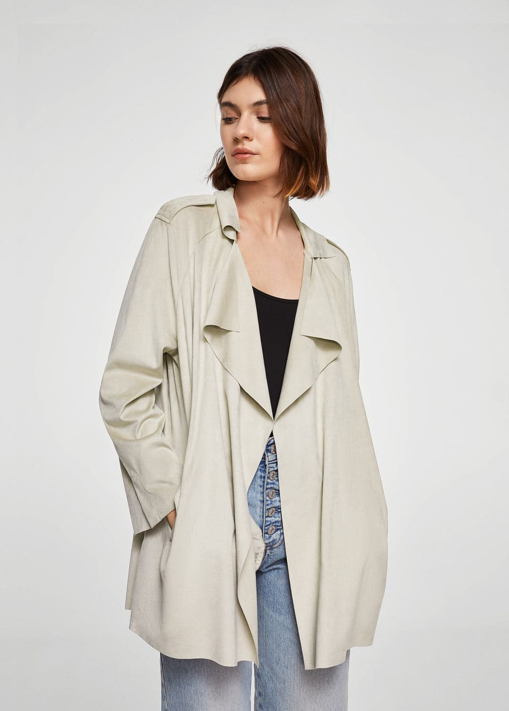 Soft finish jacket | MANGO