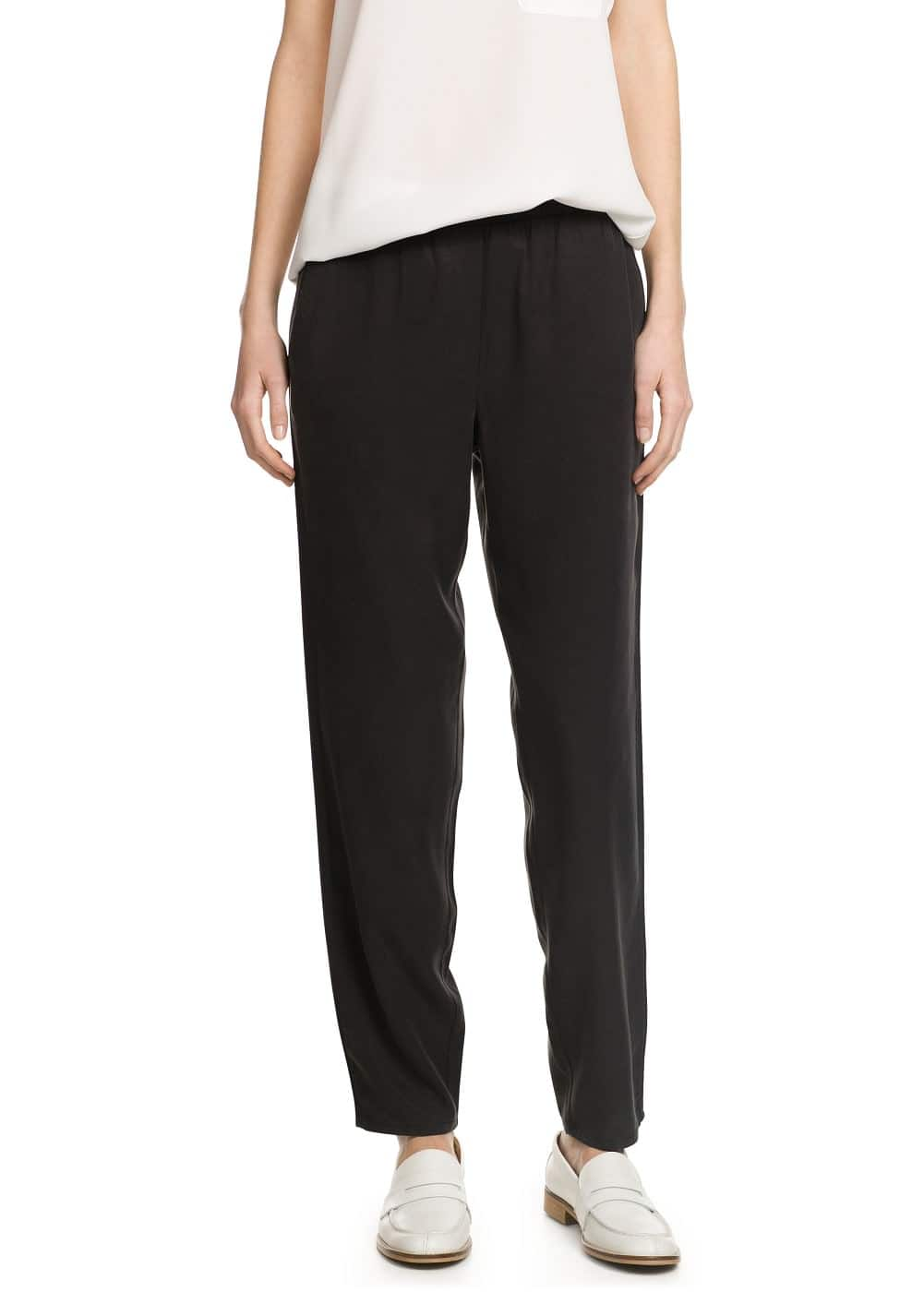 Soft fabric baggy trousers | MANGO