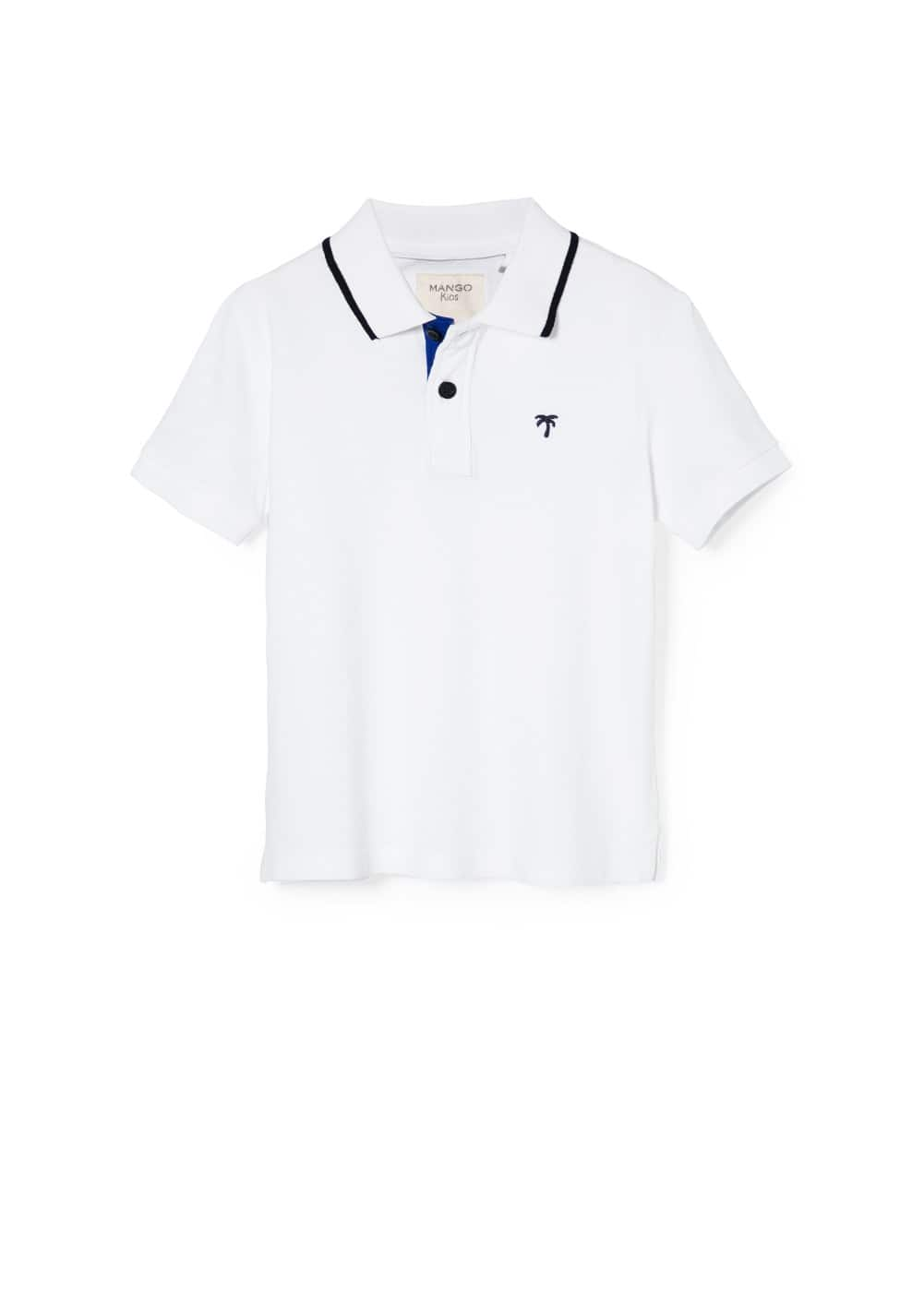 Logo polo shirt | MANGO