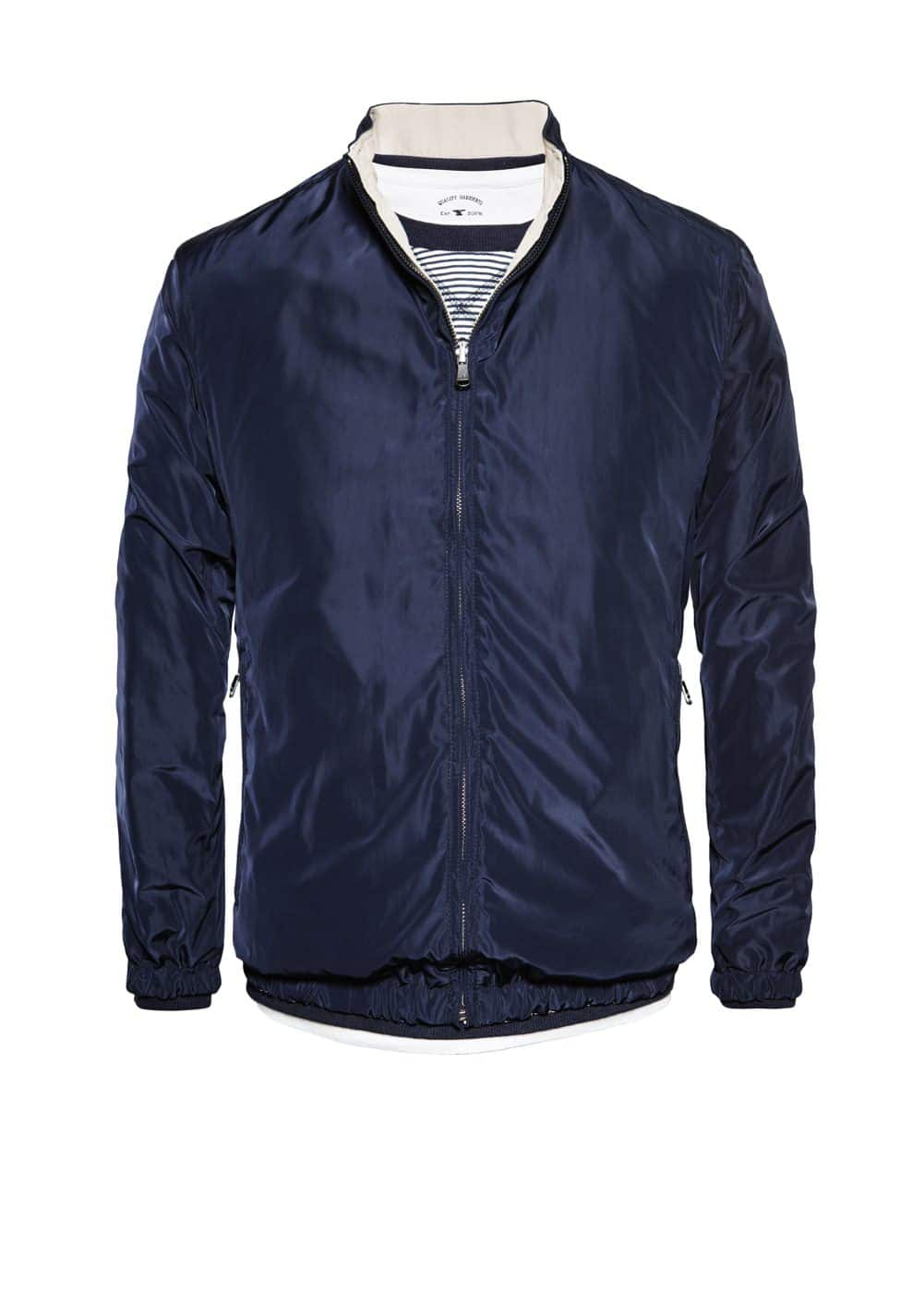 Reversible bomber jacket | MANGO MAN