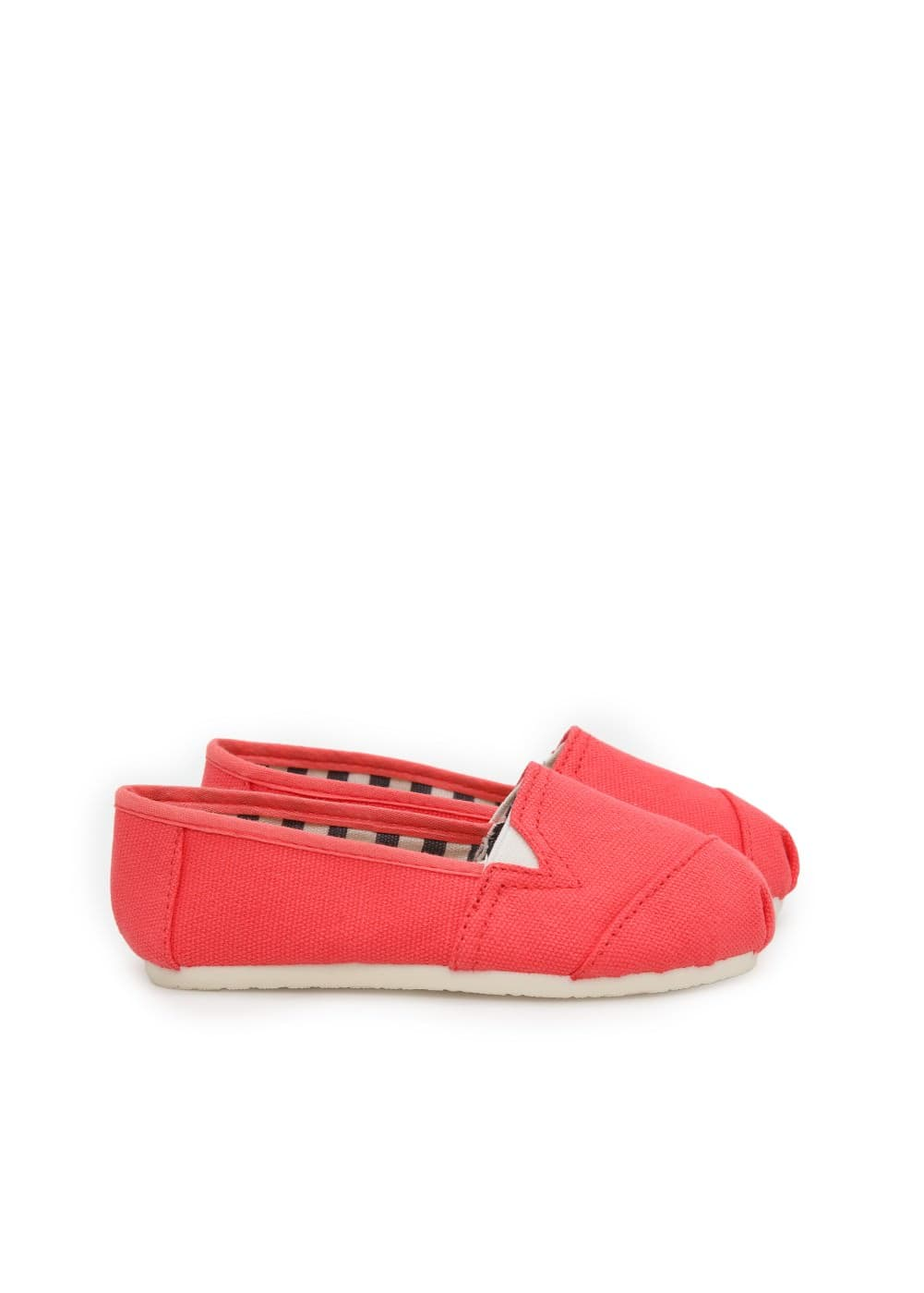 Canvas slip-on shoes | MANGO KIDS