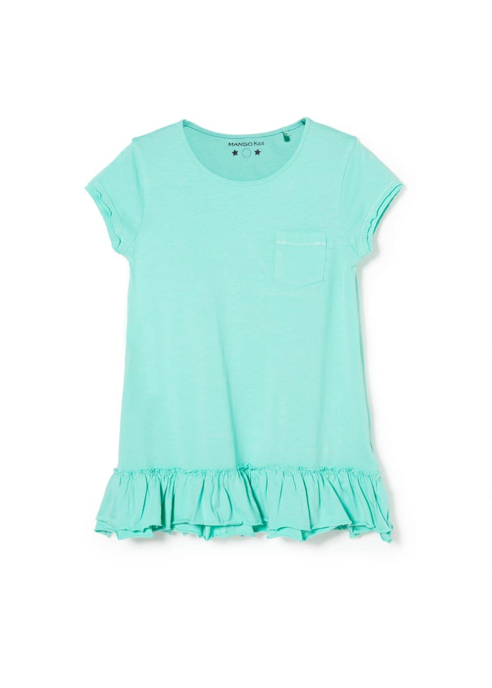 Ruffled dress | MANGO KIDS