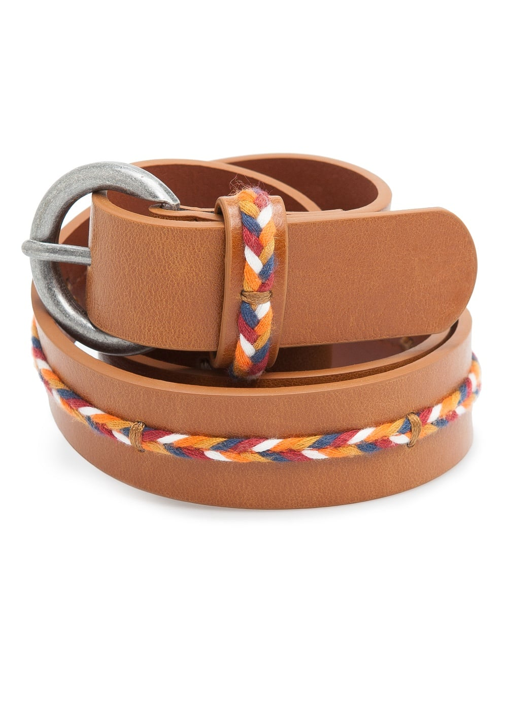 Thread braid belt | MANGO
