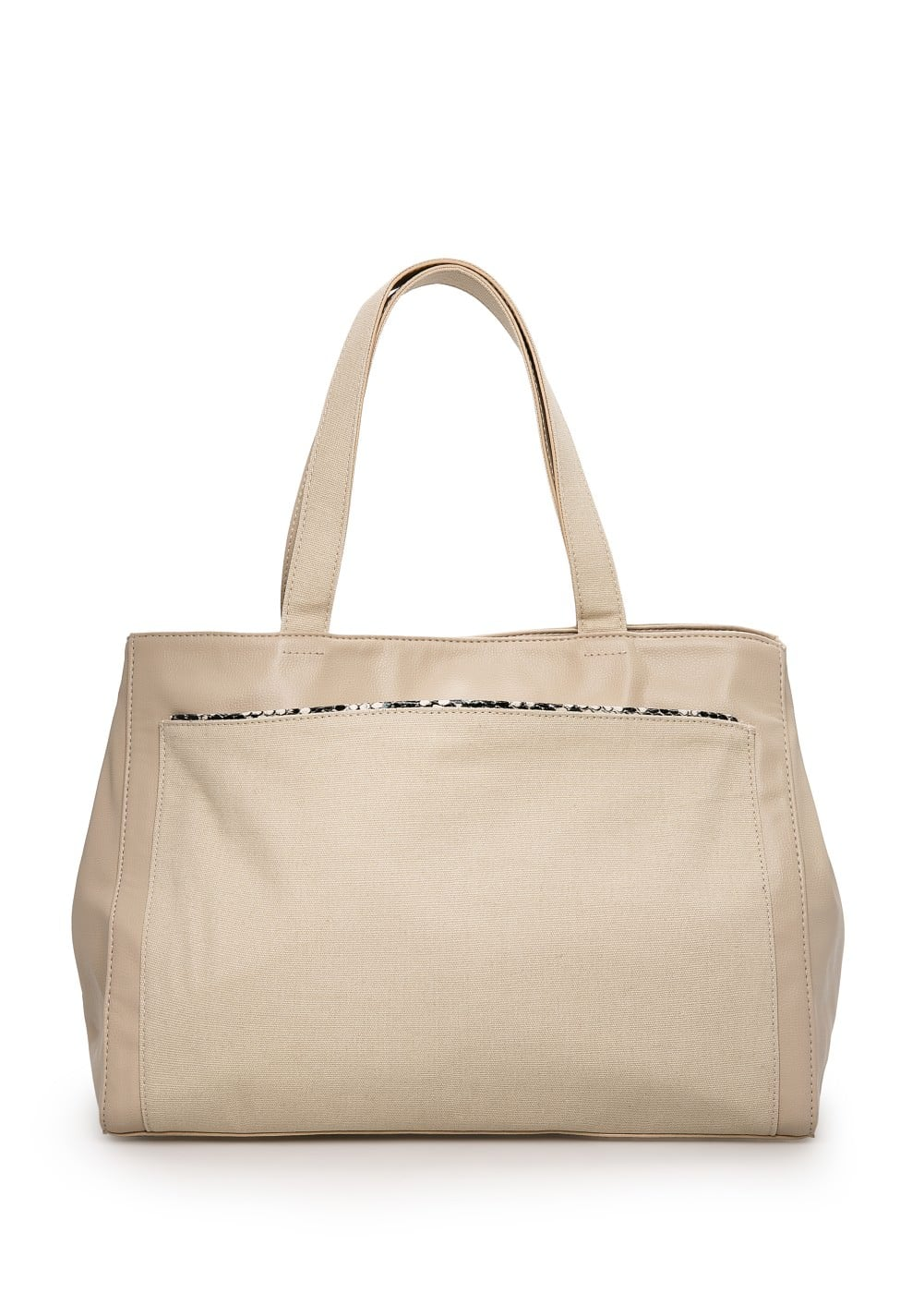 Trim shopper bag | MANGO