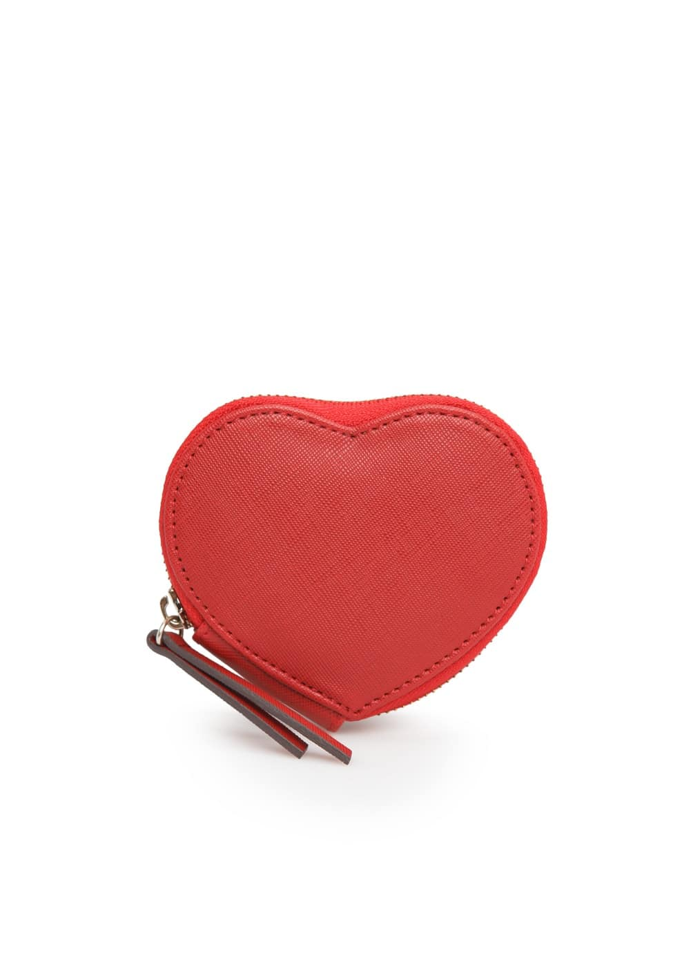 Heart saffiano purse | MANGO