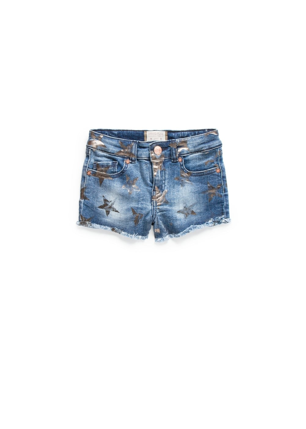 Star denim shorts | MANGO