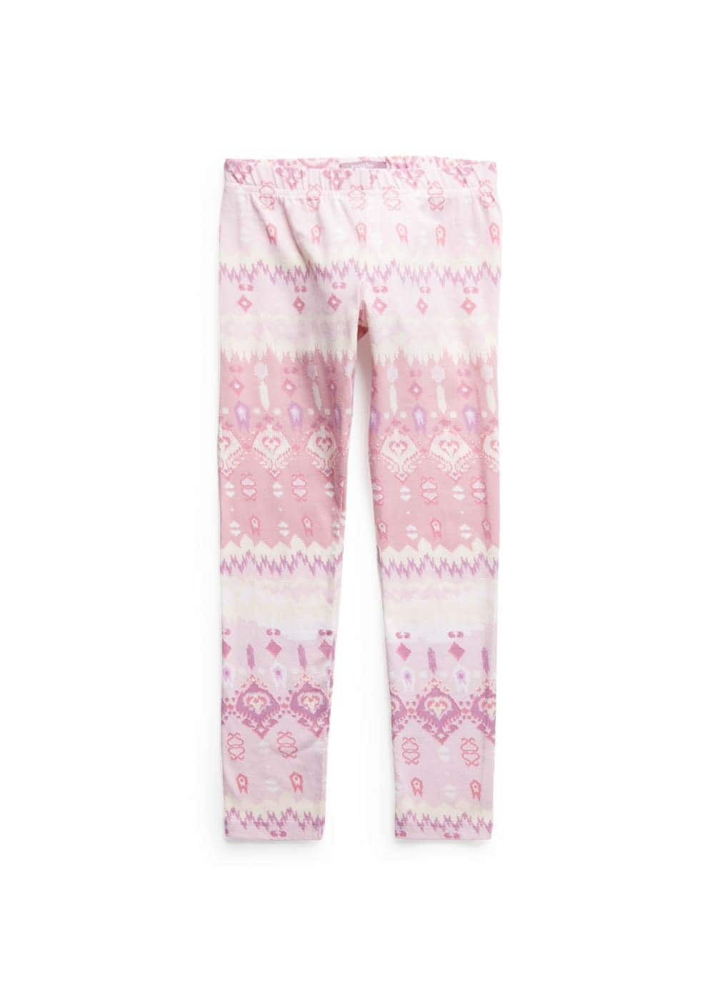 Ikat print leggings | MANGO KIDS