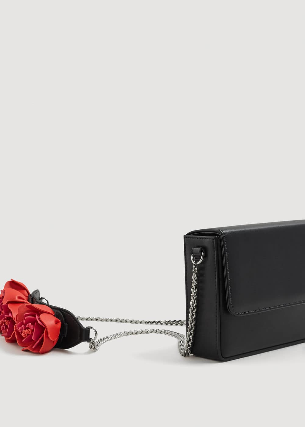 Flowers handle bag | MANGO