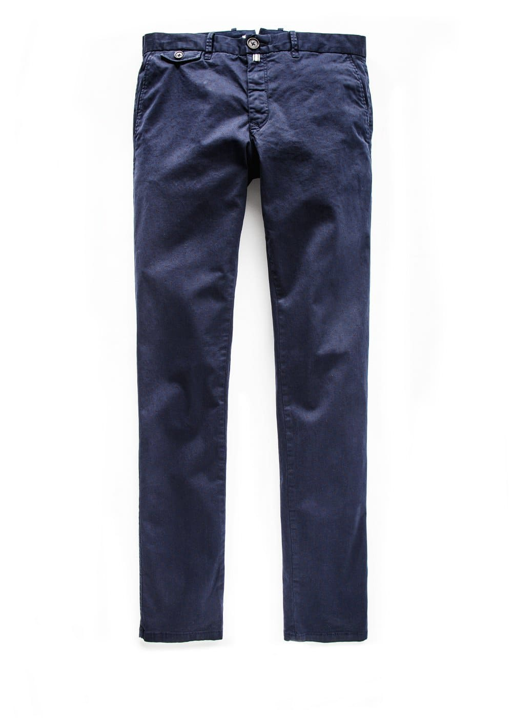 Slim-fit printed garment-dyed chinos | MANGO