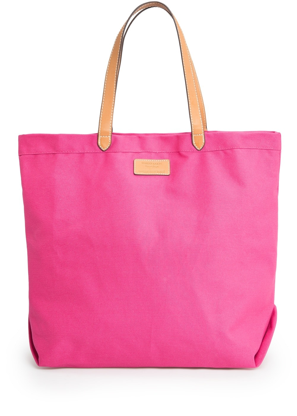 Bolso shopper canvas | MANGO