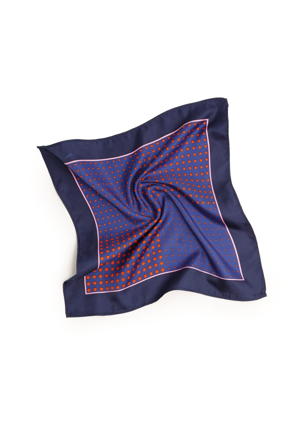 Polka-dot pocket square | MANGO