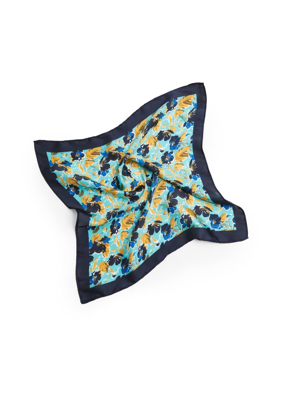 Flower pocket square | MANGO