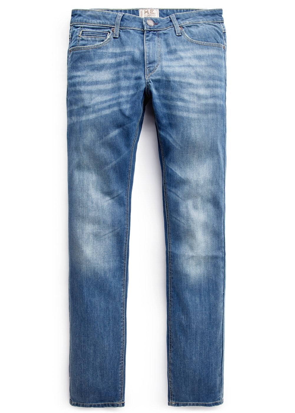 Slim-fit vintage wash alex jeans | MANGO