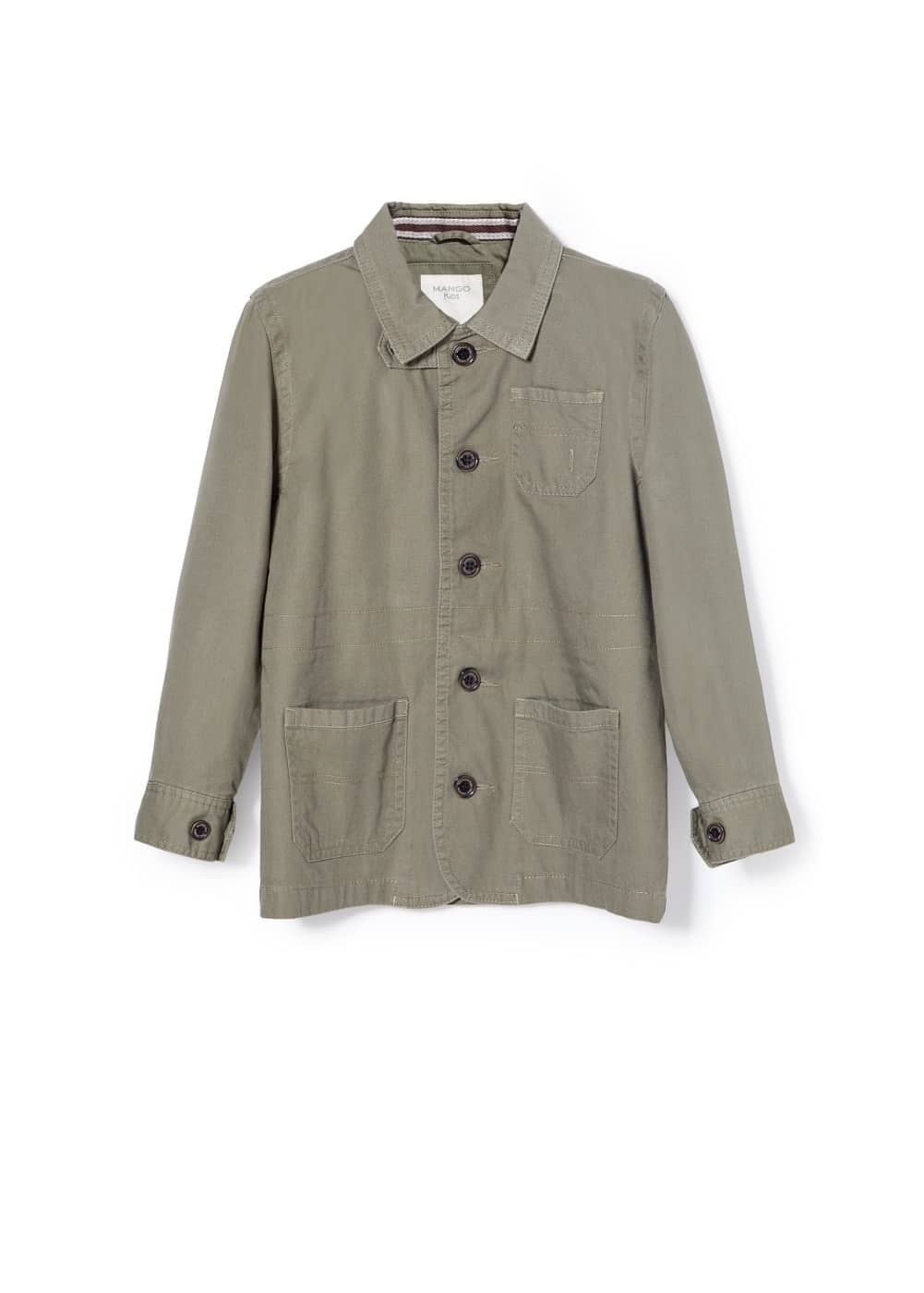 Cotton field jacket | MANGO KIDS