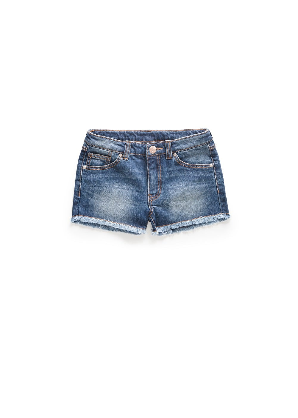 Dark denim shorts | MANGO KIDS