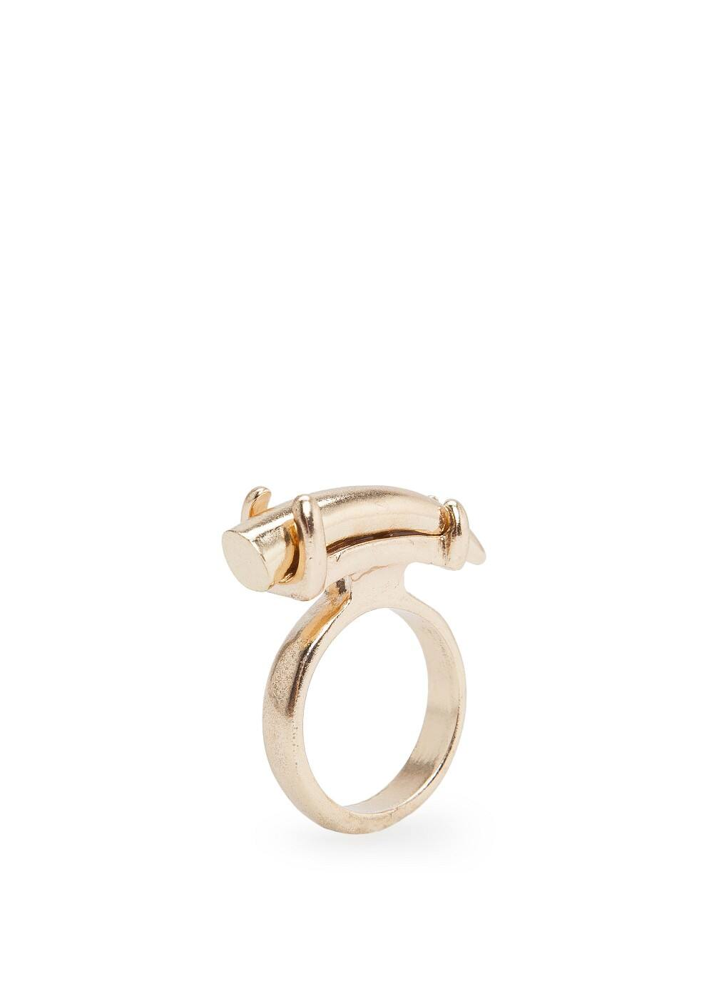 Horn metal ring | MANGO