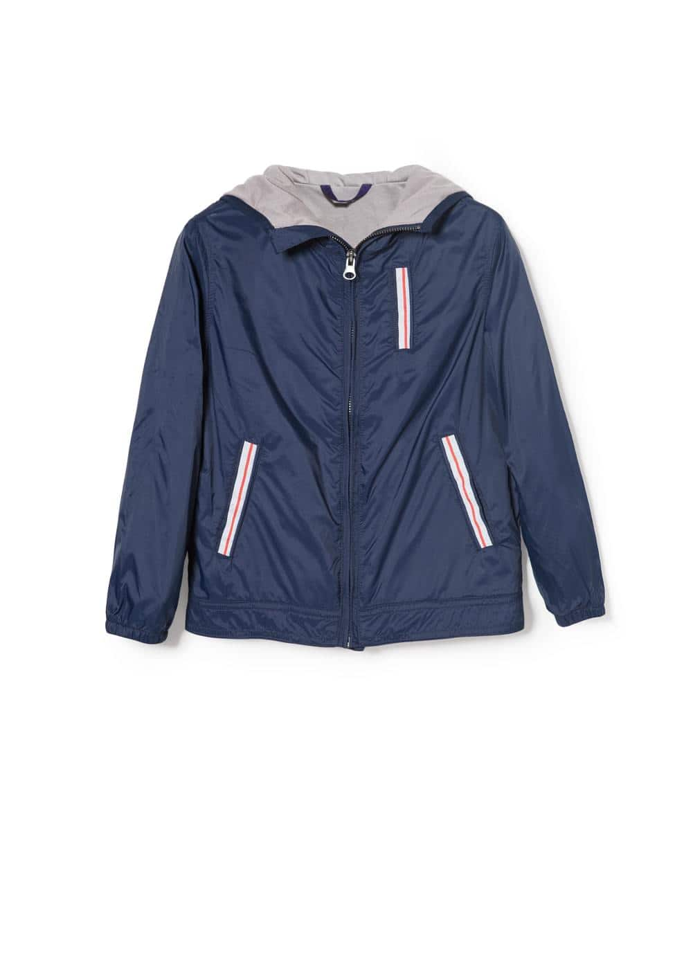 Trim nylon jacket | MANGO KIDS