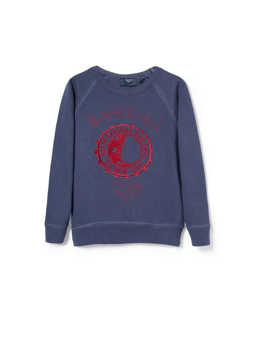 Baseball team sweatshirt | MANGO KIDS
